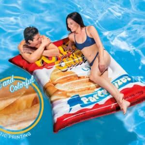 Intexl luftmadras Potato Chips 178 x 140 cm 58776EU