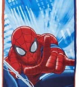 Spiderman Luftmadras med sovepose